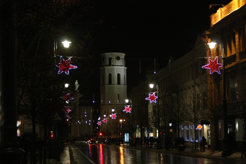 Vilnius Christmas Lights