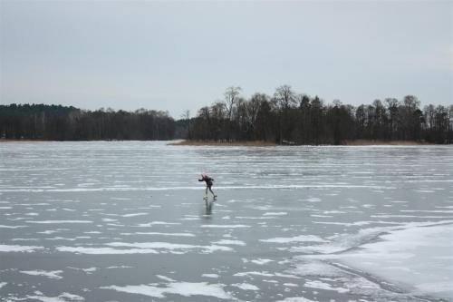 Proper Ice Skating