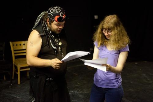 Martyn & Alison Rehearse