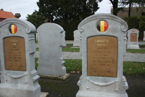 Victor Lambiotte. Soldier. Born at Tamines 25th September 1893. Died for Belgium 6th October 1914