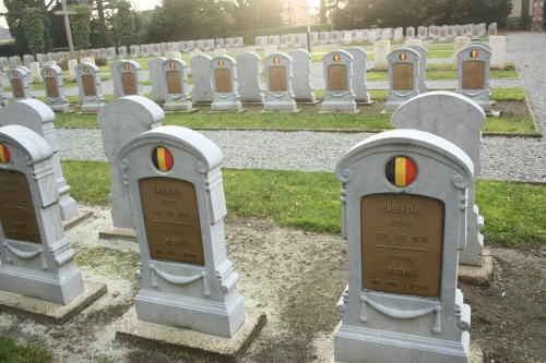 Unknown Military. Died for Belgium.
